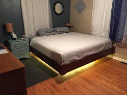 Magnetic Beds Bedrooms Awesomesimple Bed Design Led Headboard Lights 114