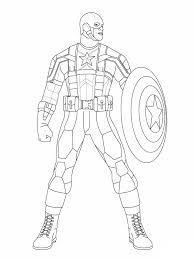 Small Picture Online Coloring Page Captain America Page In Pages esonme