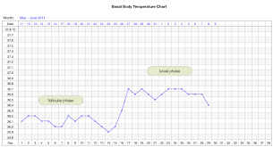 Basal Temp Chart Example Interpret Your Basal Body Temperature Chart Family
