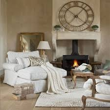 striped sofas living room furniture. Cozy Living Room With White Grey Striped Sofa Bed Fireplace Rug And Woodeden Floor French Style Image Sofas Furniture I