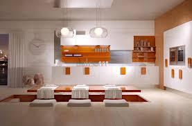 Wrap Around Kitchen Cabinets Kitchen Orange Kitchen Accent Nice Open Kitchen Shelves Nice