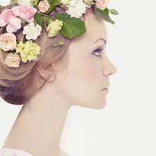 花冠を使った花嫁のウェディングヘア画像まとめヘアアレンジ編