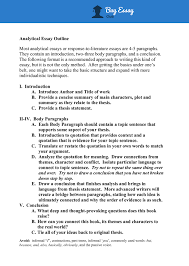 Analytical Response Essay A Step By Step Guide That Explains How To Write An Excellent