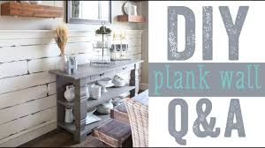 Plank Walls, Shiplap, Removing Baseboards - Q and A