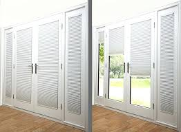 doors with blinds french patio doors with blinds between glass medium size of sliding