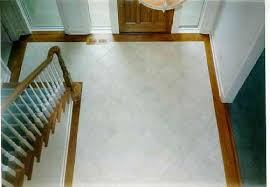 floor tile borders. Ceramic Tile Foyer Installed At 45 Degree Angle With White Oak Border Floor Borders I