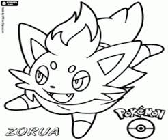 Pokémon Black And White Coloring Pages Printable Games 3