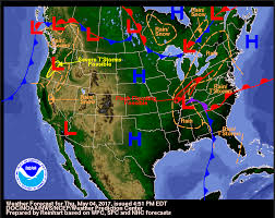 How To Read Weather Charts How To Read A Weather Map Noaa Scijinks All About Weather
