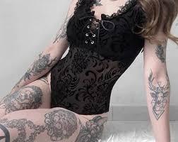 Gothic lolita top | Etsy