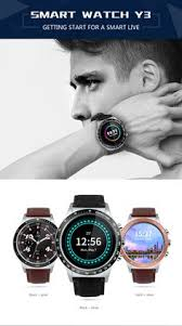 Purchased <b>Y3 Smartwatch</b> Phone 1.39 inch Screen Android 5.1 ...
