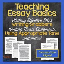 best thesis sentence ideas anchor types your essay process lessons writing titles topic sentences thesis statements
