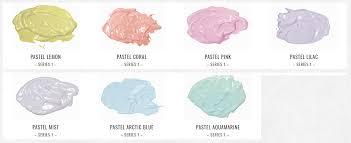 Pastel Color Code Chart Colour Chart For Atelier Interactive Pastel