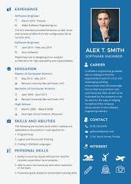 Modern Resume Formatg 23 Modern Fresher Resume Templates Free Premium Templates