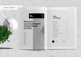 40 Best Annual Business Report Templates PSD Word PowerPoint ID Impressive Annual Report Template Design