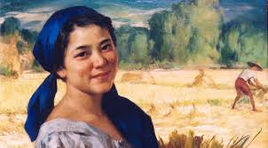 fernando amorsolo s smiling plain maiden palay maiden