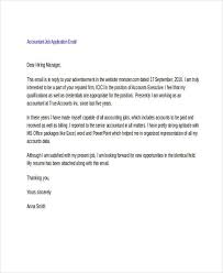 Job Application Email Template For Follow Up 19 Letter Templates