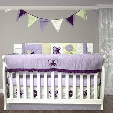 Light Green Crib Skirt Amazon Com 10 Piece Baby Bedding Set Lavendar Purple