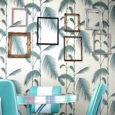 Palm Leaves Bruin En Groen 662011 De Mooiste Muren