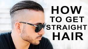 Strait Hair Style how to get straight hair mens hair styles alex costa youtube 2572 by wearticles.com