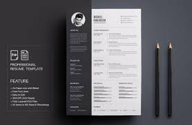 designer resume template word indesign psd template psd and word graphic designer resume template