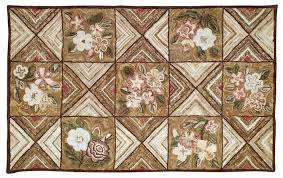 hc700 camp catlett is a hand hooked cotton rug from michaelian homes camp collection all the camp rugs have a 100 cotton face and a burlap back