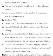 Cover Letters Tips To Make A Cover Letter Resume Letter Cover