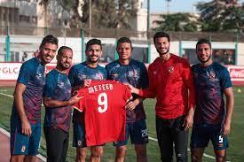 لاعبو الأهلى يدعمون عماد متعب - النيل 24