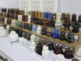 porcelain insulators collection