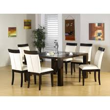 room simple dining sets: image of white seat cushions for dining room chairs