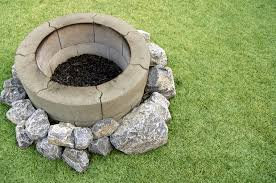 circular cinder block fire pits 27 outdoor fire pit ideas design pictures designing