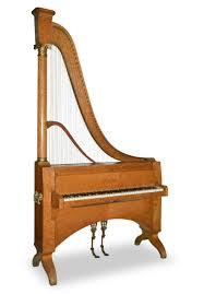 dietz claviharpe dietz harp piano on piano harp wall art with harp piano by dietz paris ca 1865 period piano company