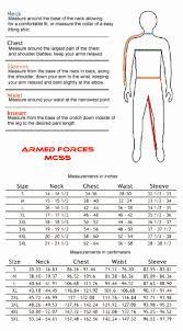 31 Genuine Acu Alternate Size Chart