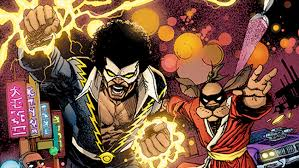 comic book lighting. \u0027Black Lightning/Hong Kong Phooey\u0027 Leads New DC/Hanna-Barbera Crossover Slate | Hollywood Reporter Comic Book Lighting