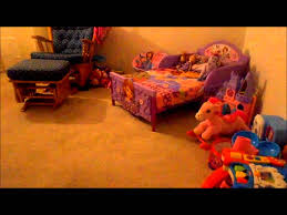 Sofia The First Bedroom Sofia The First Toddler Bed 112113 Youtube