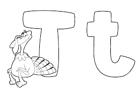 Mm Coloring Pages Letter Coloring Pages For Adults T Page Turkey K Y