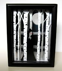 How To Decorate Shadow Boxes Hudson Valley Etsy New York DIY Tutorial Shadow Box Halloween 17