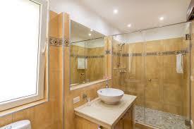Fully Tiled Bathroom Sunset Emily Villa