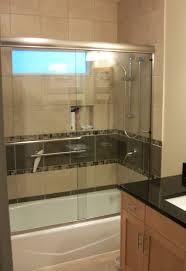 shower remodel glass tiles. Modren Shower Tiled Tubshower Surround With Glass Shower Doors For Shower Remodel Glass Tiles I