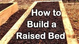 Small Picture How to Build a Raised Garden Bed with Wood Easy EZ Cheap