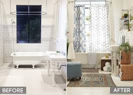 white shower curtain target. Target_Emily Henderson_Bathroom_Blue White Green Eclectic Bohemian_before And After Shower Curtain Target A