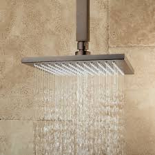 Designed to descend from the ceiling, this piece offers a relaxing and  enjoyable showering experience. 928153Signature Hardware. Rainfall Shower  Heads ...