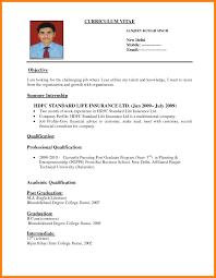 Interview Resume Format It Resume Cover Letter Sample