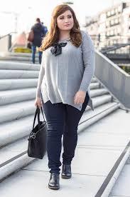 am i plus size plus size fashion hej herbst mit grau und glitzer immer ein