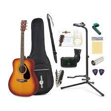 yamaha f310. yamaha f310 acoustic guitar sunburst with gear4music accessory pack