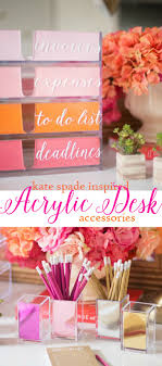 damask office accessories. Kate Spade Inspired Desk Accessories By Just Destiny With @containerstore #dressmydesk Damask Office