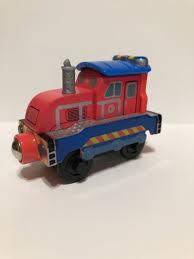chuggington wooden railway magnetic train car chug patroller calley f0314wj01
