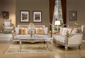 Traditional Living Room Sets Modern Contempo Luxury Sofa Love Seat Chair 3 Piece