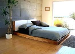 Low Profile King Bed Frame Interesting Modern Bedroom Furniture ...