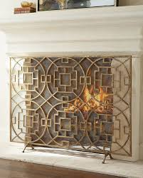 tall fireplace screen coryc me