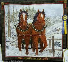 Quilt Inspiration: Happy (quilted) Holidays! The Best of Christmas ... & This quilt won the $1500.00 Directors Choice AND Viewer's Choice prizes at  the 2014 Road to California Quilt Show. Kathy McNeil says,